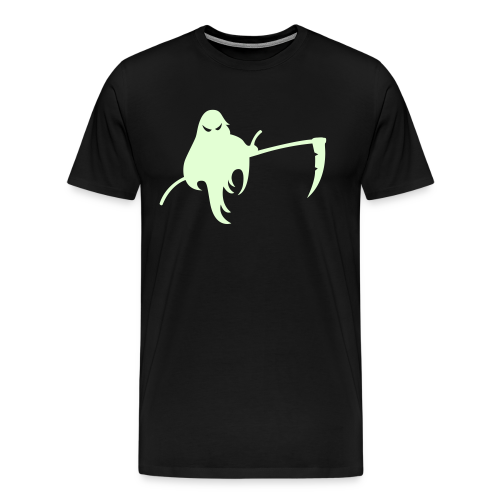 Halloween Shirt Glow in the Dark - Sensengeist - Männer Premium T-Shirt