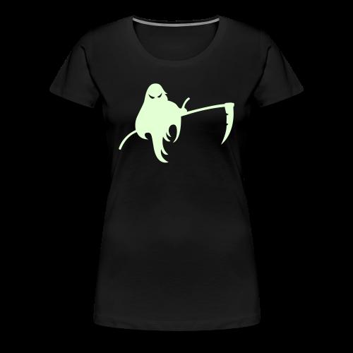 Halloween Shirt Glow in the Dark - Sensengeist - Frauen Premium T-Shirt