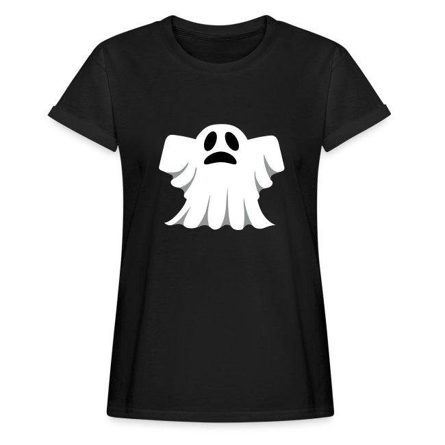 Ghost Vrouwen PrintsDames Fun Shirt Little Zwart Oversize T VLSqzUMjpG