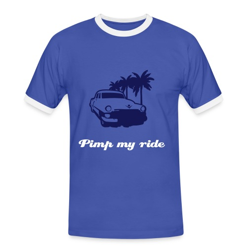 Pimp my ride - Kontrast-T-shirt herr
