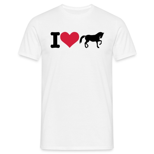 I Love Horse - Men's T-Shirt