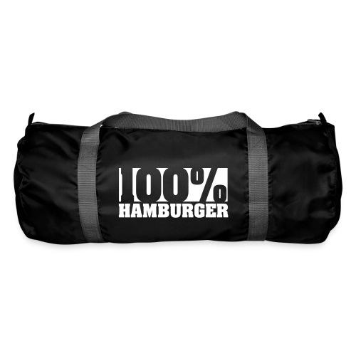 100% Hamburger, Hamburger, echter Hamburger Sporttasche - Sporttasche