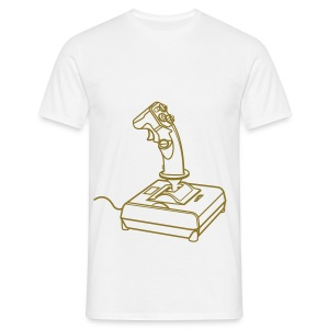 Joystick! Gold - Men's T-Shirt