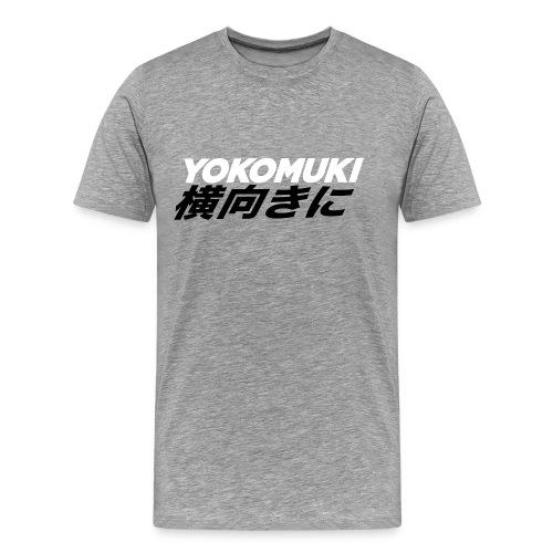 Yokomuki Kanji Tee - Men's Premium T-Shirt