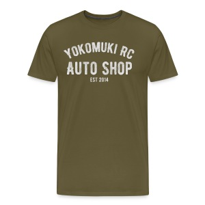 Yokomuki Auto Shop  - Men's Premium T-Shirt