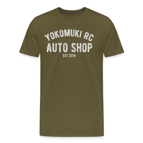 Yokomuki Auto Shop  - Men's Premium T-Shirt