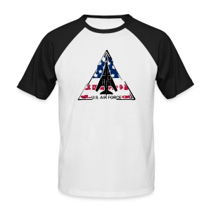B-1B Lancer US Edition - Männer Baseball-T-Shirt