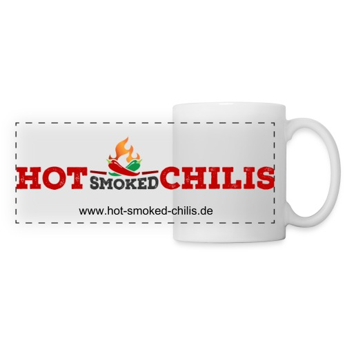 Hot Smoked Chilis - Tasse - Panoramatasse