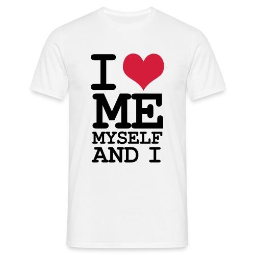 I love me  - Herre-T-shirt
