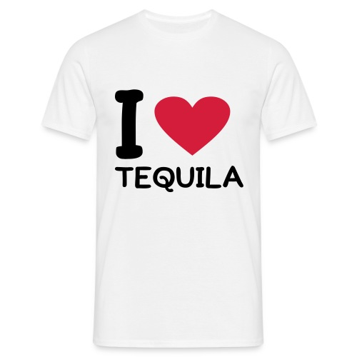 I love TEQUILA - Herre-T-shirt