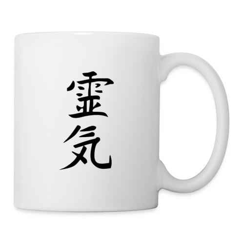 tasse reiki black - Mug blanc