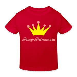 Pony Prinzessin - Kinder Bio-T-Shirt