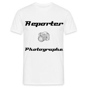 Reporter Photographe - Face - T-shirt Homme