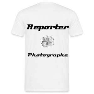 Reporter photographe - Dos - T-shirt Homme