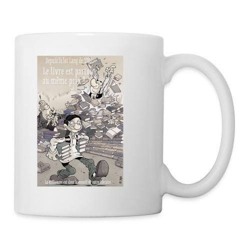Tasse libraire - Mug blanc