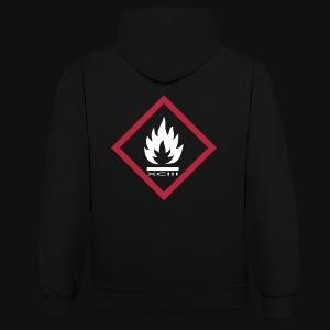 FIRE XCIII  - Sweat-shirt contraste