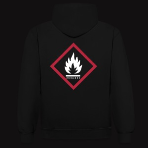 FIRE XCIII  - Sweat-shirt contraste