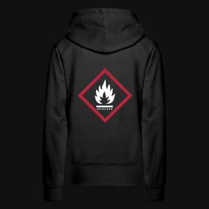 FIRE XCIII  - Sweat-shirt à capuche Premium pour femmes