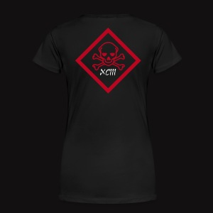 SKULL POISON  - T-shirt Premium Femme