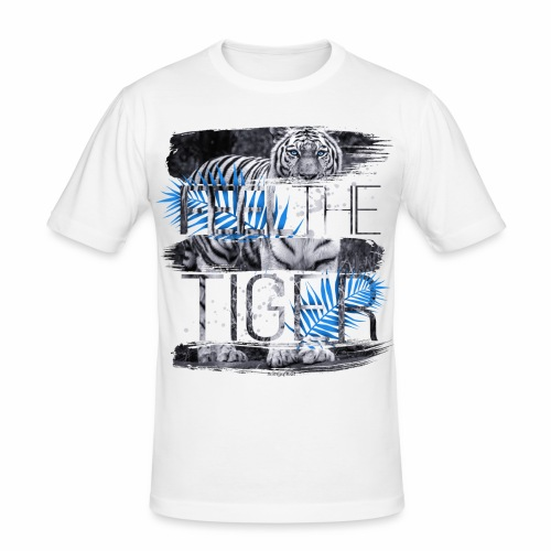 Feel the Tiger Männer T-Shirt SlimFit - Männer Slim Fit T-Shirt