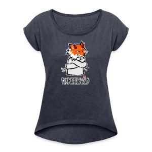 Fuxdeifelswild - Mädle - Frauen T-Shirt mit gerollten Ärmeln