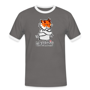 Fuxdeifelswild - Kerle - Männer Kontrast-T-Shirt
