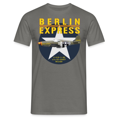 P-51 Berlin Express - Men's T-Shirt