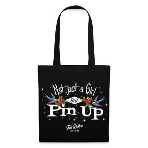 Not Just a Girl but Pin Up - Tote Bag