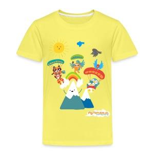 Kids FlyTandem Comic - Kinder Premium T-Shirt