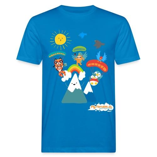 Men Bio FlyTandem Comic Shirt - Männer Bio-T-Shirt