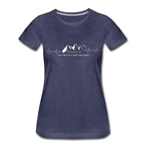 Woman Flytandem HeartBeat - Frauen Premium T-Shirt