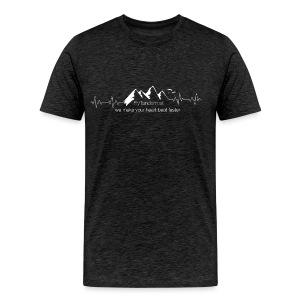 Men Flytandem HeartBeat - Männer Premium T-Shirt