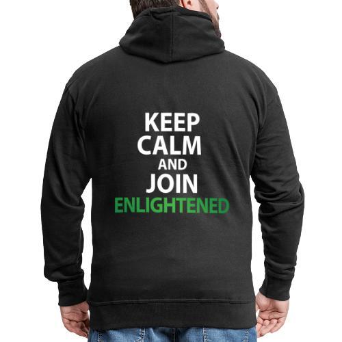 Keep Calm Join ENL - Veste à capuche Premium Homme