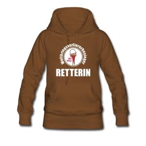 Retter-Schwitzhemd - Frauen Premium Hoodie