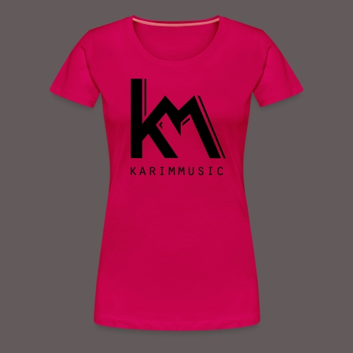 KarimMusic shirt men - Vrouwen Premium T-shirt
