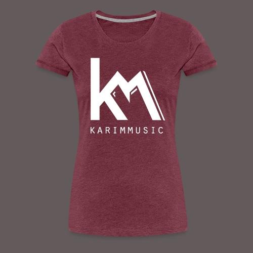 KarimMusic shirt men - Vrouwen Premium T-shirt