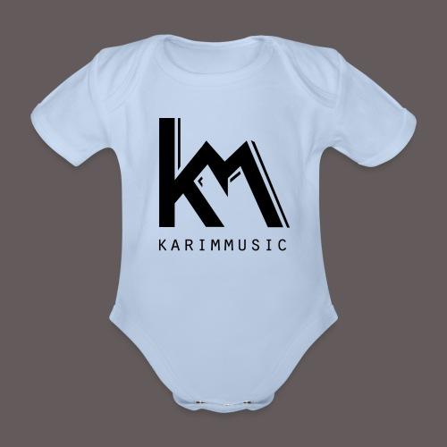 KarimMusic For Baby's - Baby bio-rompertje met korte mouwen