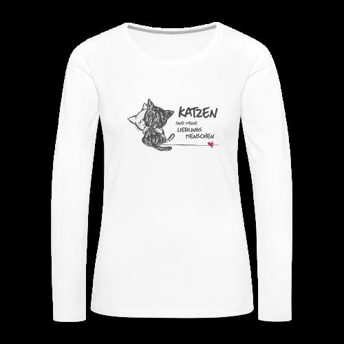 Lieblingsmenschen - Frauen Premium Langarmshirt