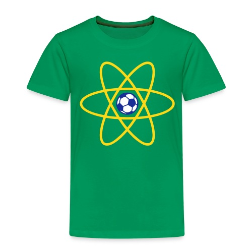 Brazil Football Atom - Kids' Premium T-Shirt