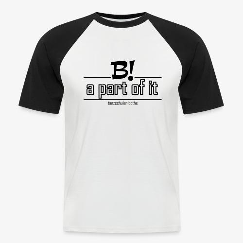 Collegeshirt  - Männer Baseball-T-Shirt