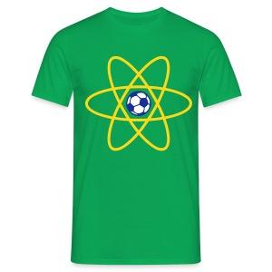 Brazil Football Atom - Men's T-Shirt