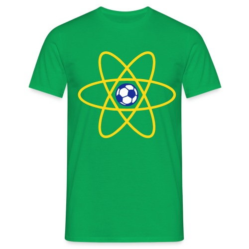 Brazil Football Atom - Men's T-Shirt