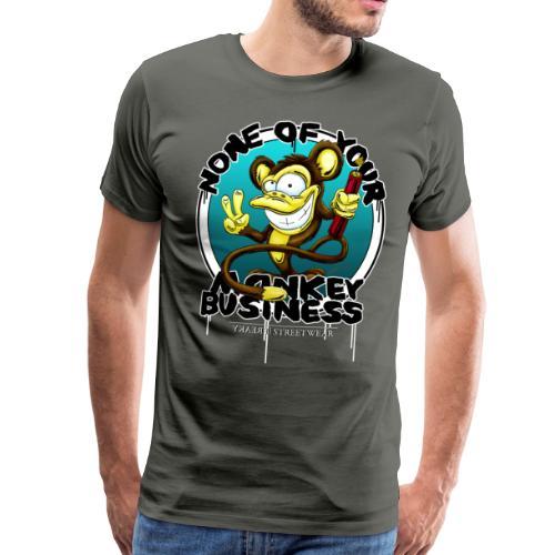 No monkey business - Männer Premium T-Shirt