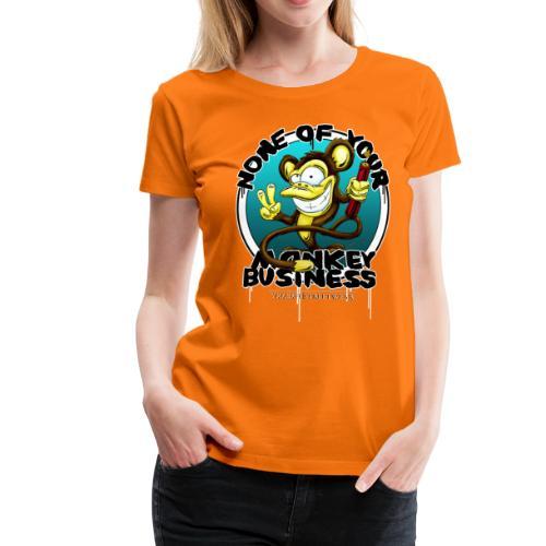 no monkey business - Frauen Premium T-Shirt