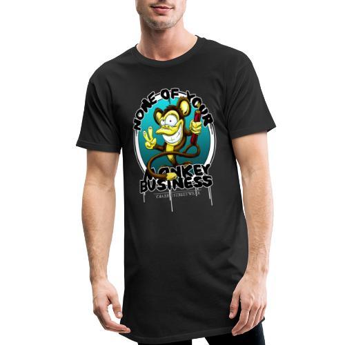 No monkey business - Männer Urban Longshirt