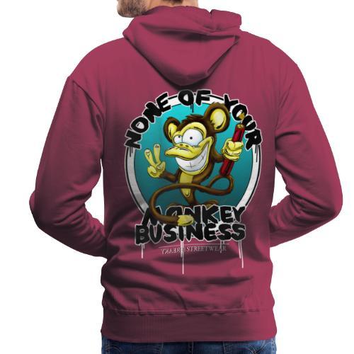 no monkey business - Männer Premium Hoodie