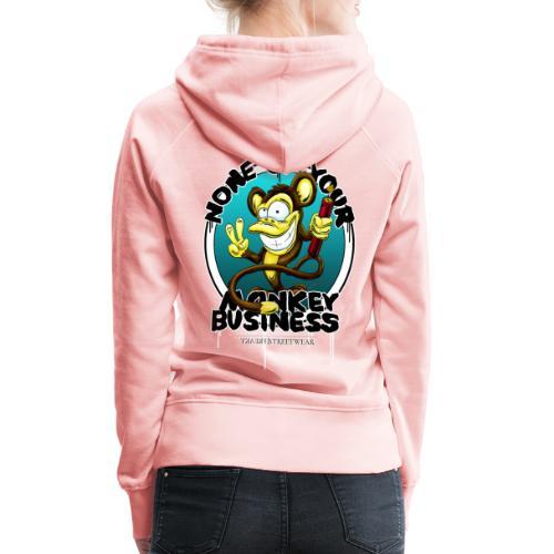 no monkey business - Frauen Premium Hoodie