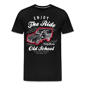 Enjoy The Ride 2cv/Deuch AK400 - T-shirt Premium Homme
