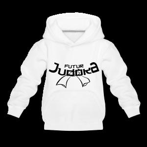 Futur judoka - Pull à capuche Premium Enfant