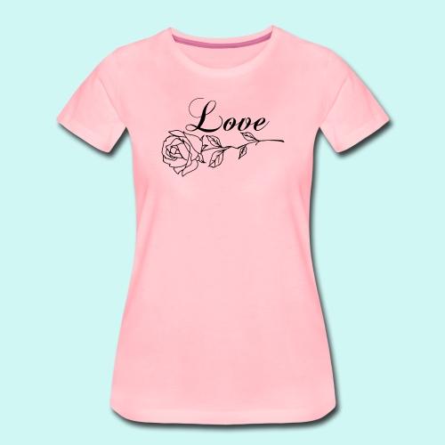 Love forever  - T-shirt Premium Femme